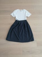 Used Top and tweed skirt size XS to S in Dubai, UAE