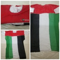 Used UAE National day girls Arabic dress in Dubai, UAE