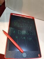 Used LED Writing Tab - Wipe it with Butto🤩 in Dubai, UAE
