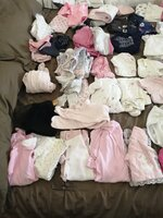Used Baby girl Clothes. White Friday discount in Dubai, UAE