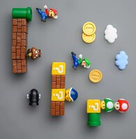 Used 23 pieces super Mario fridge magnets in Dubai, UAE