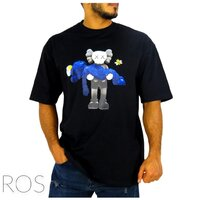 Used T shirt Kaws print (new). in Dubai, UAE