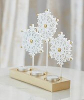 Used Festive Snowflake Candle Holder in Dubai, UAE