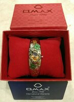 Used For Her_ Omax Original Bangles Watch in Dubai, UAE