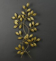 Used Gold Leaf branch wall decor in Dubai, UAE