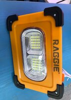 Used Solar Rechargeable light for camping in Dubai, UAE