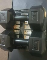 Used 6kg PVC Dumbbells 6kg Each one pair in Dubai, UAE