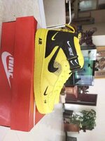 Used Nike shoe,yellow, size 42 in Dubai, UAE