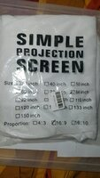 Used Simple projection screen in Dubai, UAE