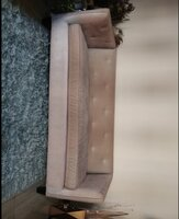 Used Dusty Pink 3 Seater Sofa from The One in Dubai, UAE