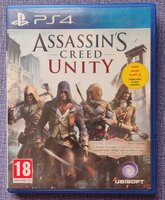 Used AC Unity ps4 game brand new in Dubai, UAE