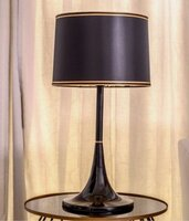Used Stylish black table lamp in Dubai, UAE