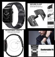 Used New Apple watch strap stainless New. in Dubai, UAE