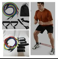 Used Fitness pull rope full set in Dubai, UAE