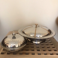 Used Two Serving Dishes with Lid in Dubai, UAE