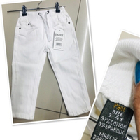 Used Boys white pants size 3-4 yr old ♥️ in Dubai, UAE