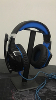 Used Kotion gaming headset with headset stand in Dubai, UAE