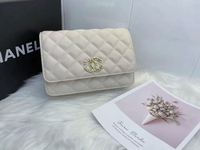Used New off white Chanel bag with packing in Dubai, UAE