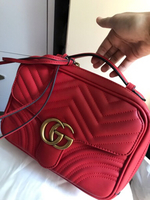 Used Crossbody Bag G*ucci Red Marmont in Dubai, UAE