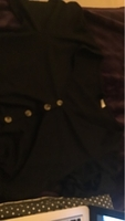 Used H&M button up black blouse S in Dubai, UAE