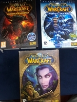 Used 3 warcraft pc games for sell  in Dubai, UAE