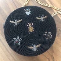 Used Nomada Embroidered Bugs Handbag  in Dubai, UAE