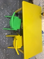 Used Kids table with 2 chairs in Dubai, UAE