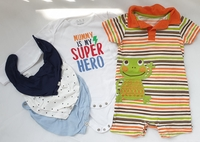 Used 5 pcs bundle for boy, 9-12 M in Dubai, UAE