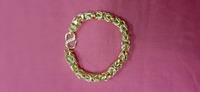 Used Unisex Lucky gold Dragon bracelet ! in Dubai, UAE