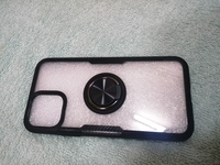 Used Clear Finger Ring case for iphone 11 pro in Dubai, UAE