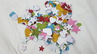 Used Wall sticker - 1pack Star&Hearts in all in Dubai, UAE