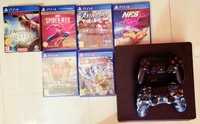 Used Playstation 4 - 12 Games, 2 Controllers in Dubai, UAE