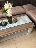 Used Coffee Table with Table Runner in Dubai, UAE