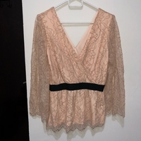 Used Pink lace shirt in Dubai, UAE