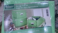 Used Cupboard Storage Box 3 Sets - 9 pieces  in Dubai, UAE