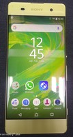 Used SONY XPERIA XA 16 GB LIME GOLD in Dubai, UAE