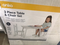 Used 3 piece Table and chair set  in Dubai, UAE
