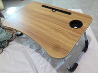 Used Productive bed table with a small drawer in Dubai, UAE