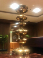 Used Solid copper candleholder  in Dubai, UAE