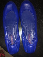 Used Authentic Ralph Lauren flats.  Size 39 in Dubai, UAE