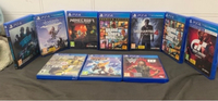 Used PS4 GAMES THERE IS OVER 5 GAMES in Dubai, UAE