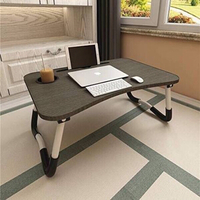 Used Laptop Bed table. Foldable with cup hold in Dubai, UAE