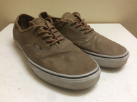 Used Brown canvas men shoes (VANS) in Dubai, UAE