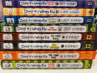 "Used ""Diary of a Wimpy Kid"" Books  in Dubai, UAE"