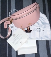 Used Coach Pink Belt Bag in Dubai, UAE