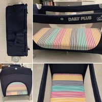 Used Travel Crib with Mattress in Dubai, UAE