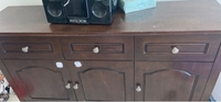 Used Buffet table with LG stereo in Dubai, UAE