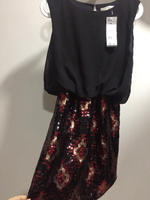 Used new branded SEQUIN dress, small/medium in Dubai, UAE