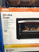 Used Oven with Grill Function (28 litre) Anko in Dubai, UAE