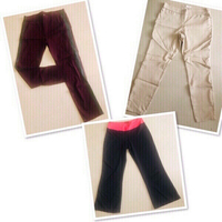 Used 3 pants for her / Large ♥️ in Dubai, UAE